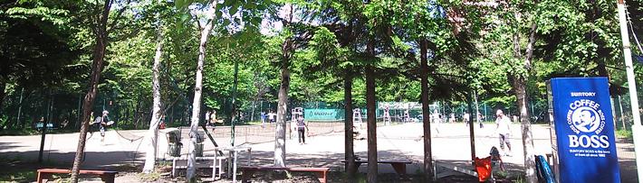 定山渓スポーツ公園 テニスコート