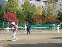 テニスコートレンタル秋