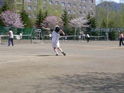 テニスコートレンタル春
